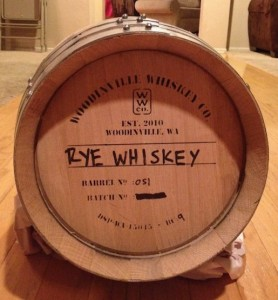 Homebrew French Oak Barrel