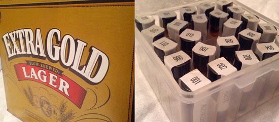 Off Flavor Tasting Kit for beer.
