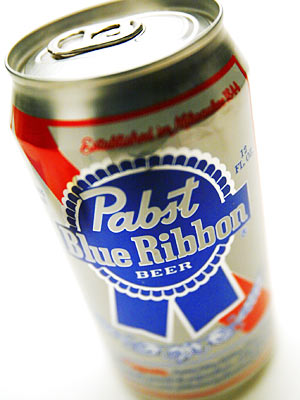 Pabst Vintage Ad - Pabst Can