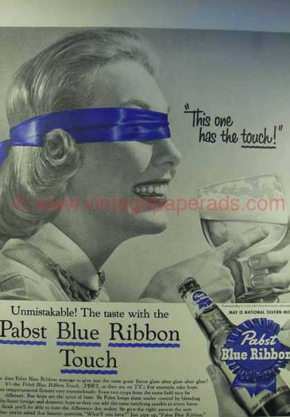 Pabst Vintage Ad - Pabst has Touch