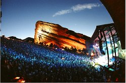 Picture of Red Rocks concert