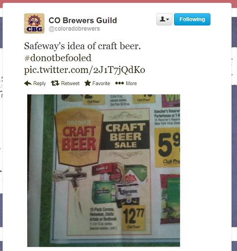 Safeway Craft Beer